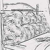 APcjerp Bolso Suave Grande de la Cintura del Amortiguador de Doble Cabeza Triangular cojín del sofá Volver (Color: 4, Tamaño: 60 × 45 × 20 cm) Hslywan (Color : 2, Size : 60×45×20cm)