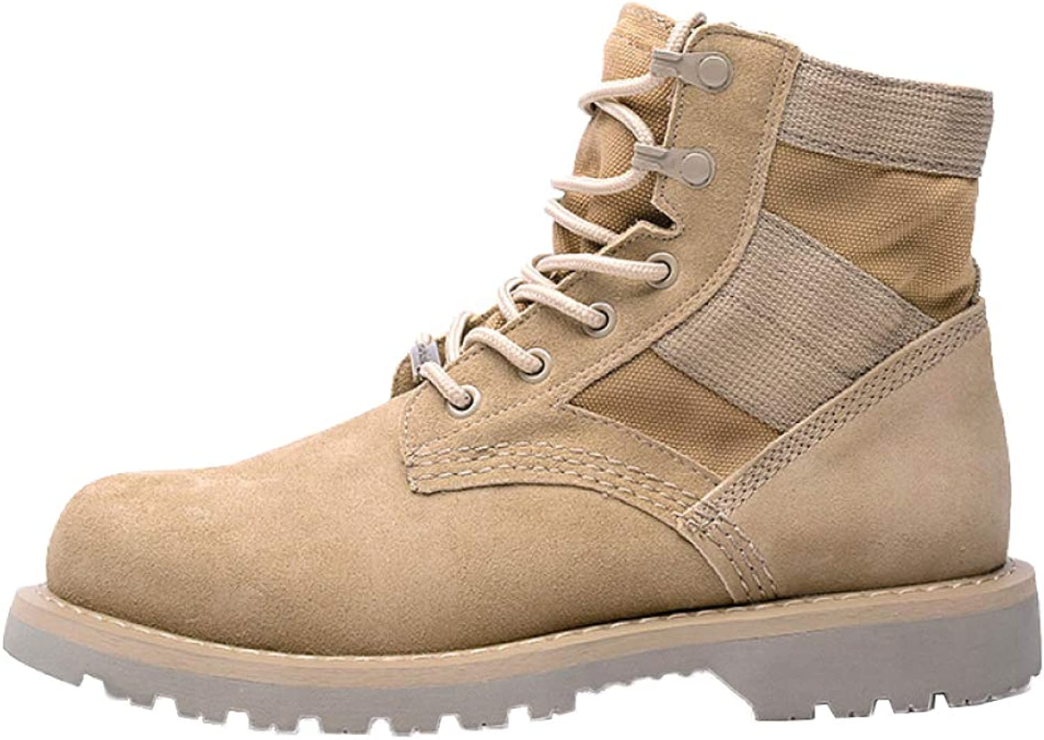 Men's Martin Boots Leather Chukka High Help Boots Desert Tactics Boots Snow Boots Work Boots High Help Lace-up shoes