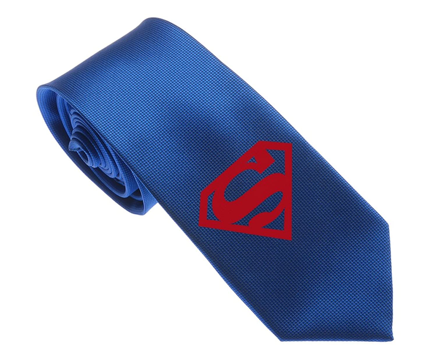 Uyoung Red Superman Logo Multi-colored Men's Woven 2.5