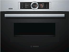 Bosch CNG6764S6 - Horno (1000 W, Acero inoxidable, Tocar, TFT, Arriba, 1 L)