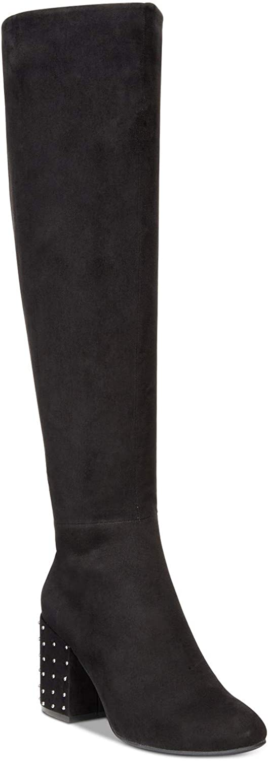 Bar III Womens Grand Closed Toe Knee High Fashion Boots, Black, Size 8.0
