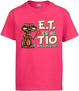 Diver Camisetas Camiseta Este es mi Tio y Mola Mucho Parodia Friki Extraterrestre
