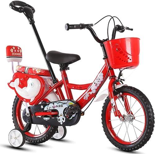 Kinderfürr r Guo Shop- Kinder fürrad 12 14 16 Zoll fürrad 2-3-5-7 Jahre alt Jungen und mädchen Kinder Vorschule Kinderwagen mit Schubstange