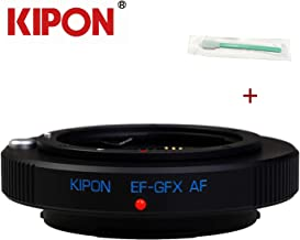 Kipon Auto Focus AF Adapter for Canon EOS EF Lens to Fuji GFX Camera EF-GFX AF