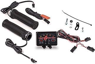 Heat Demon 215048 Quad Zone ATV Clamp-On Heated Grip Kit, Black