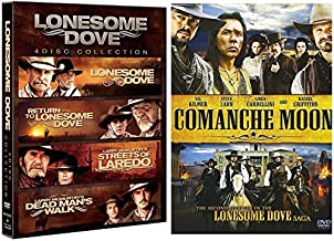 Lonesome Dove 4-Movie pack + Comanche Moon - Complete Series
