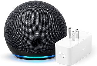Echo Dot (4th Gen) + Amazon Smart Plug | Charcoal