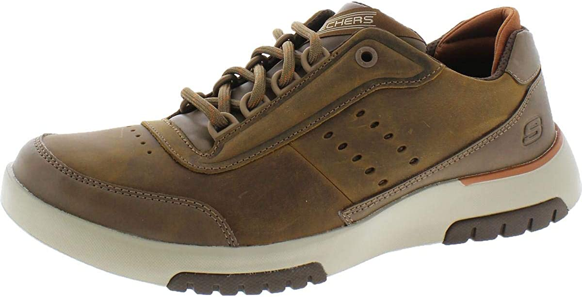 Skechers Men's Bellinger 2.0 - Regran Sneaker Oxford, Desert