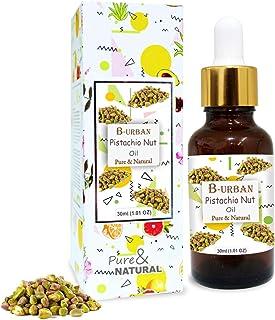 B-URBAN Pistachio Nut Oil 100% Natural Pure Undiluted Uncut Carrier Oil 30ml