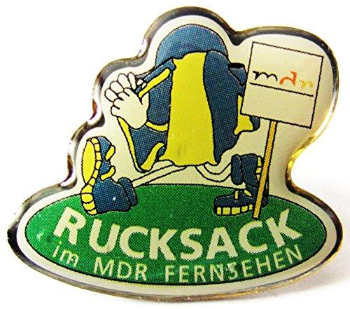 MDR - Fernsehen - Rucksack Sendung - Pin 22 x 20 mm