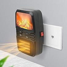JFSKD Calentador de Llama Mini Calentador pequeño de sobremesa Calentador portátil de lámpara de Llama doméstica de 1000 W Control de Seis velocidades