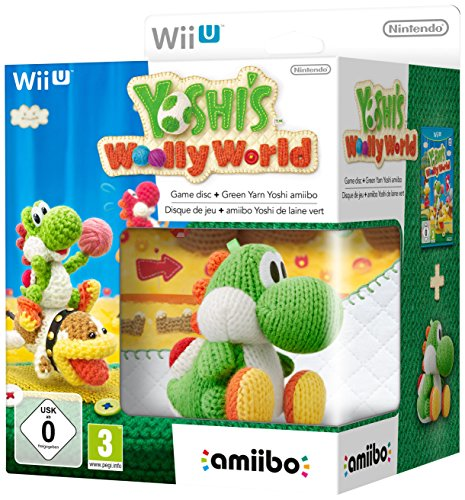Nintendo Wii U: Yoshi Woolly World + Figurina Amiibo [Bundle Limited]