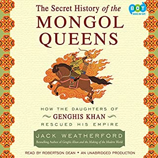 The Secret History of the Mongol Queens audiobook cover art