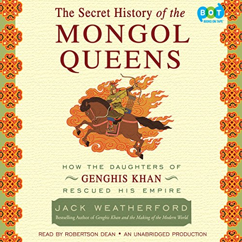 The Secret History of the Mongol Queens cover art