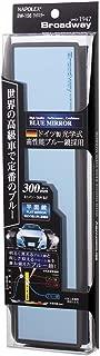 Broadway BW156 Blue 300mm Flat Mirror with Black Frame