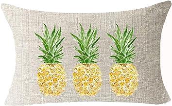 18/'/' Fresh Summer Fruits Print Pillow Case Waist Throw Cushion Cover Home Decor