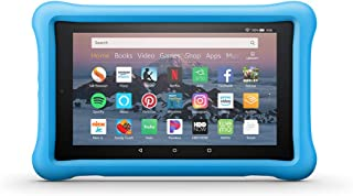 Amazon Kid-Proof Case for Amazon Fire HD 8 Tablet (Compatible with 7th and 8th Generation Tablets, 2017-2018 Releases), Blue