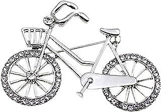 Ruikey Personalidad Creativa Broche de la Bici,Broche Masculino,Broches para Ropa Mujer