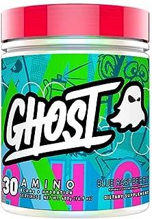 GHOST AMINO: Blue Raspberry (40 Serv) Amino Acids - Vegan–Friendly, 10G Total Essential Amino Acids 5.5G EAAs and 4.5G BCA...