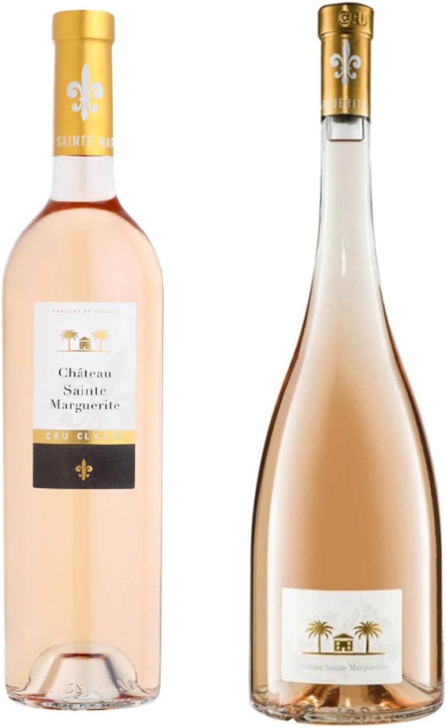 Best of Provence - Lot de 2 bouteilles - Château Sainte Marguerite : Symphonie/Cru Classé - Côtes de Provence Rosé 2019 (2 * 75cl)