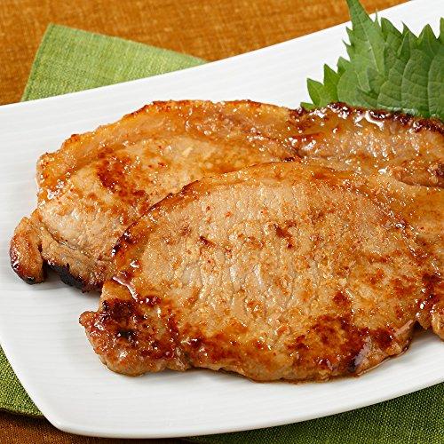 ( 産地直送 京都 ) 京の味付焼肉 国産豚ロース西京味噌仕立て ( 100g×6 )