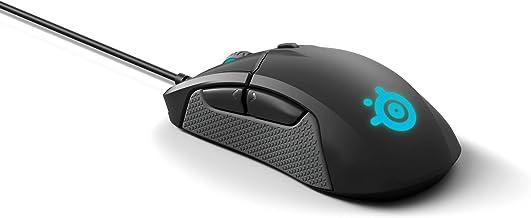 SteelSeries Sensei 310 Mouse Ottico da Gioco, Ambidestro, Illuminazione RGB, 8 Pulsanti, Impugnature Laterali in Gomma, Ca...