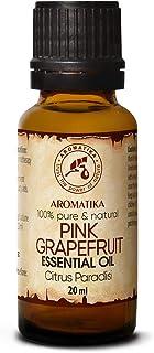 Pomelo 20ml - 100% Puro & Natural Aceite Esencial - Citrus Paradisi - Sudáfrica - para Buen Sueño - Belleza - Aromaterapia...