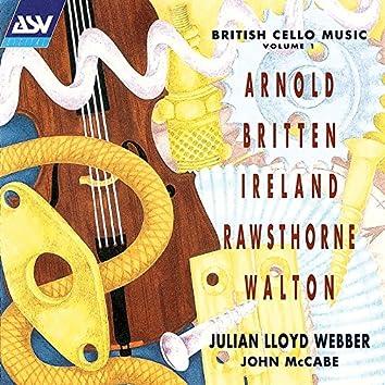 British Cello Music Vol. 1
