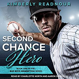 Second Chance Hero audiobook cover art