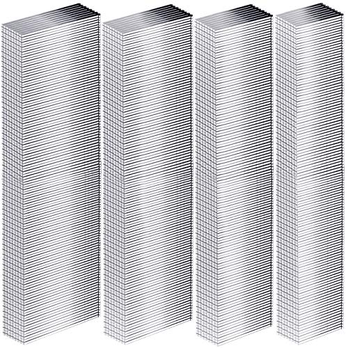 18Ga Brad Nails Galvanized Finish Nail Galvanized Brad Nails for Repairing Molding Cabinetry Building Assembly (960 Pieces,1 Inch, 1-1/4 Inch, 1-1/2 Inch, 2 Inch)