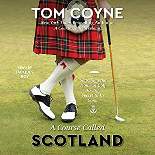 A Course Called Scotland audiobook cover art