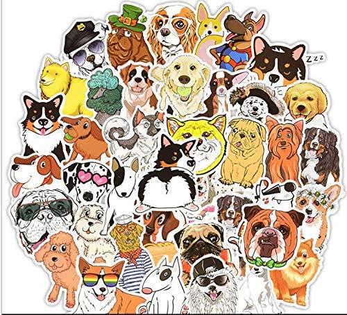 Pegatinas de Animales, COTEY 100 Piezas Impermeable Pegatinas Graffiti Stickers Paquete de Pegatinas para Equipaje de Coche, Monopatín, Motocicleta, Bicicleta(Patrones y Colores Aleatorios)
