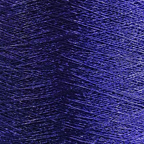 NDBBWG 24 Colors Metallic Embroidery Thread for Brother Embroidering Machine Gold Silver 5000M 125g Sewing DIY Patches,ME702 Dark Blue