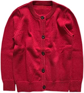 red cardigan sweater for toddler girl