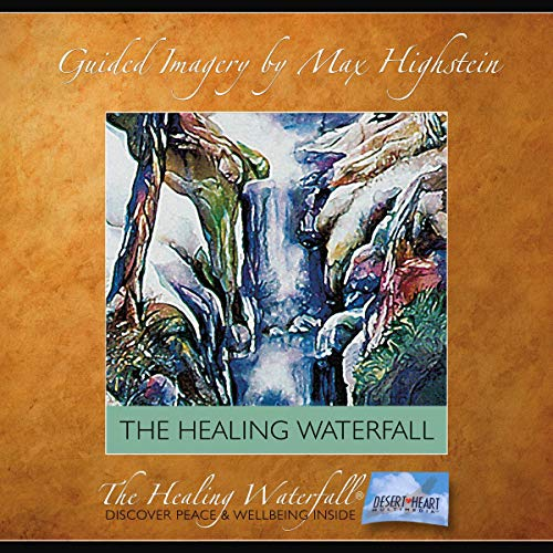 The Healing Waterfall audiobook cover art