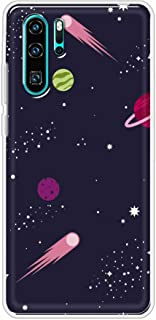 Okteq Clear TPU Protection and Hybrid Rigid Clear Back Cover Case Printed Compatible with Huawei P30 pro- outer space1 By ...
