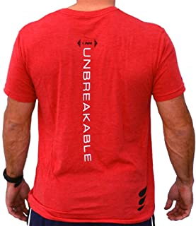 Men's Workout Athletic Unbreakable Gym Training Running Crossfit Shirt