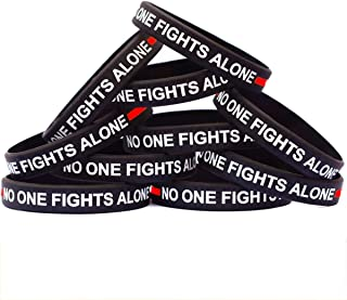 15 of Thin RED Line No One Fights Alone Bracelets
