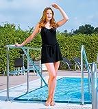 Suprima Inkontinenz Badeanzug modisch, schwarz 50