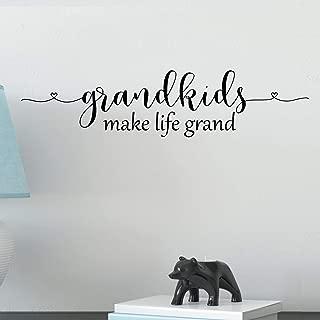 grandkids make life grand decal
