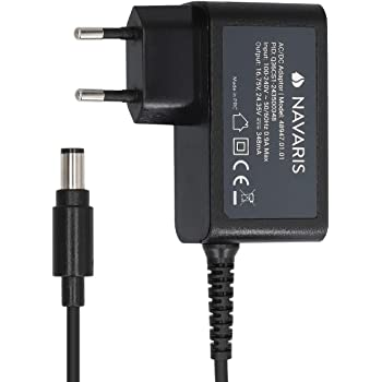 Navaris Cargador Compatible con aspiradora Dyson - Cargador Compatible con Aspirador DC30, DC31, DC34, DC35, DC45s -16.75V- 24.35V 0.35A - Negro: Amazon.es: Hogar