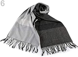 1pc 6 Grey Light Grey Scarf/Shawl with Fringes, Winter Shawls and Snoods, Shawls, Scarves &, Fashion Accessories