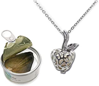 Best apple necklace silver Reviews