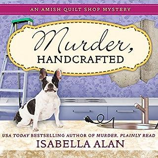 Murder, Handcrafted audiobook cover art