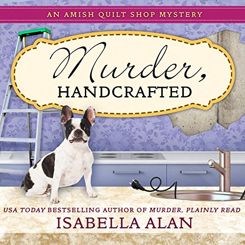 Murder, Handcrafted audiobook cover art