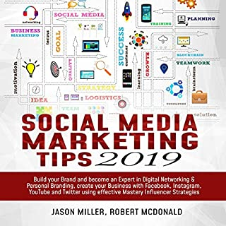 Social Media Marketing Tips 2019 cover art