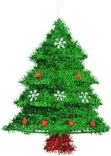 Tinsel Christmas Tree Decorative Wall Hanging