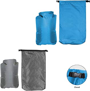 5L Dry Bag, Assorted Colors, Set of 2, Grey and Blue