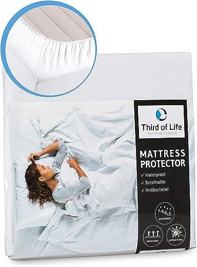 Matratzenschutz 50x90 für Baby- und Kinderbett | Hygienische Einlage für Babybett| Wasserdichte Matratzen-Auflage | Anti-Milben Schutzbezug |...