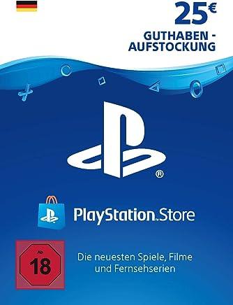 PSN Card-Aufstockung | 25 EUR | deutsches Konto | PSN Download Code